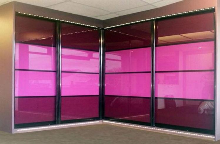 فروش انواع شیشه رنگی و آینه رنگی رویال جام