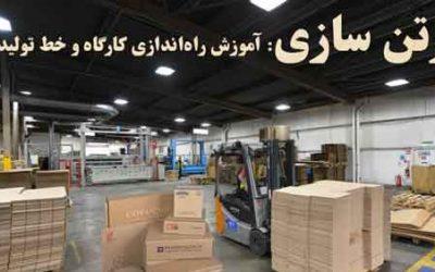 راه اندازی خط تولید انواع دستگاه های کارتن سازی و جعبه سازی در ایران