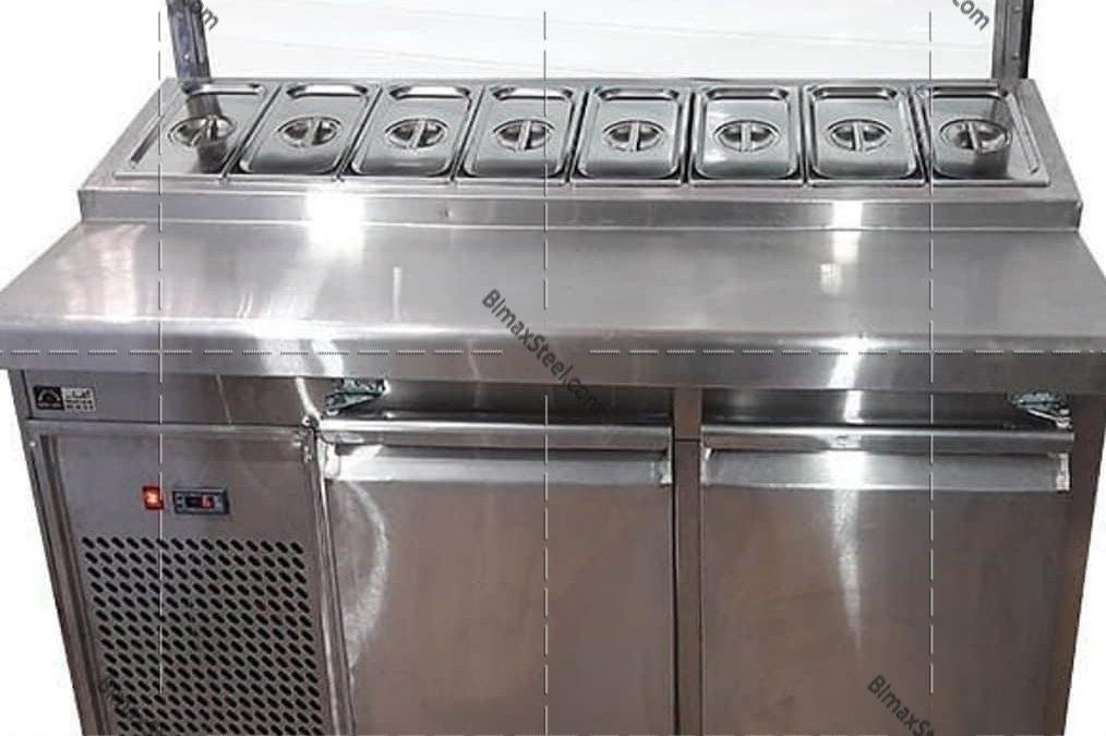 تجهیزات آشپزخانه صنعتی بیمکث استیل